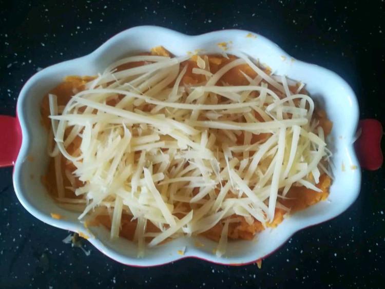 香甜软糯的奶酪焗红薯,初秋早餐有它才完美‼️图5