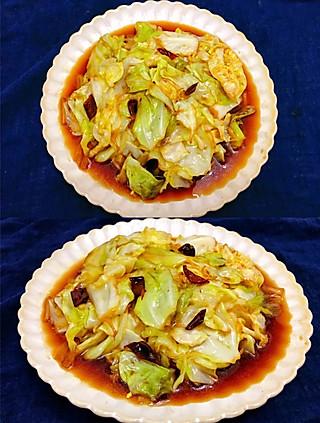 豫SueSue的🍚超级下饭的酸辣手撕包菜❗️让我乖乖的吃下两大碗米饭❗️