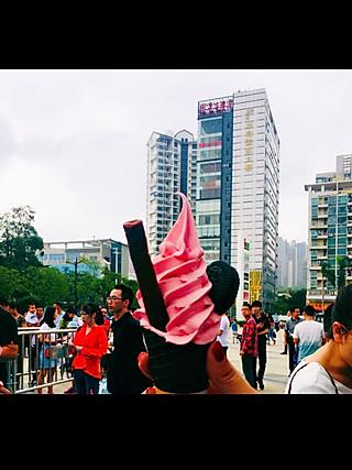maojunli在吃货的世界的超级好吃网红爆款ice cream