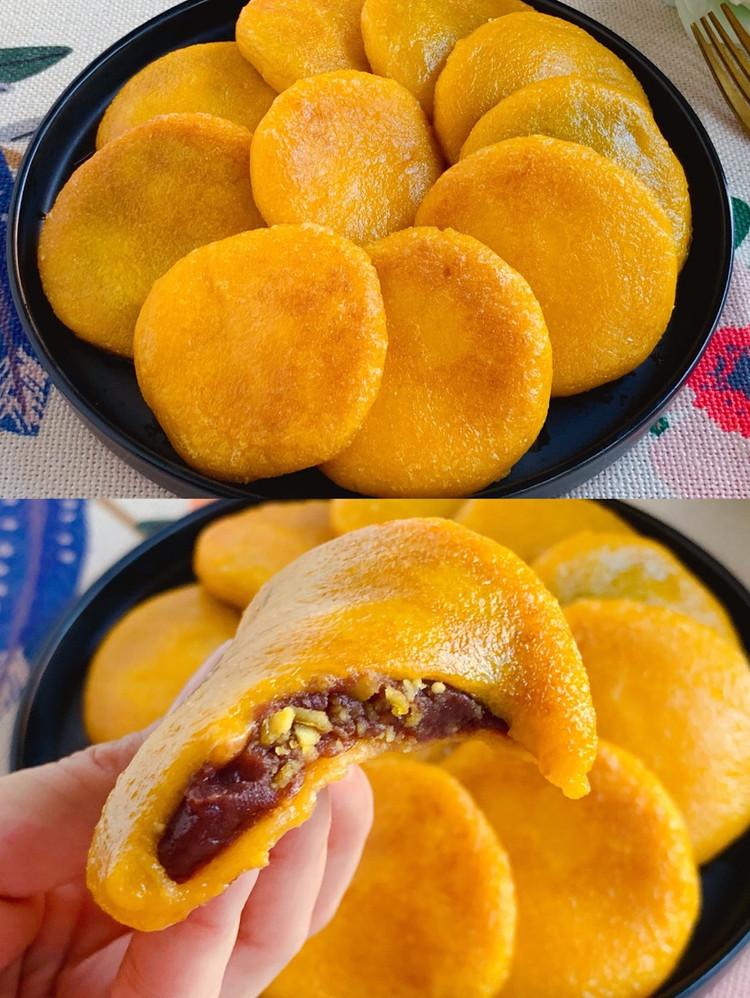 ㊙️零失败❗️软糯香甜,无敌好吃的奶香南瓜饼~图2