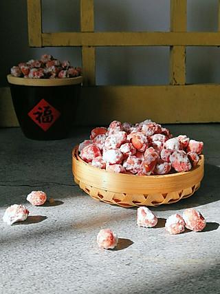 清雅小厨的香脆酥口的糖霜花生,好吃到在原地转圈圈