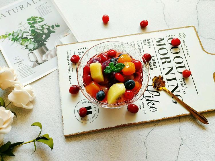 酸爽可口的蔓越莓芋圆杯简单几步就能搞定哦😉图1