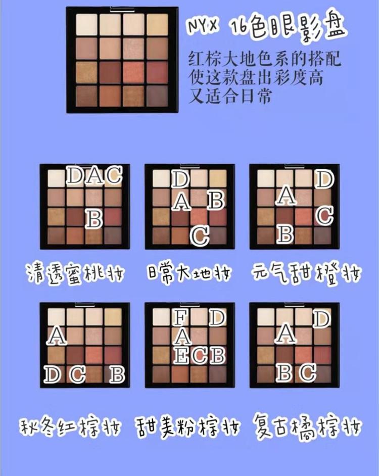 热门眼影盘的眼妆教程👀新手必备✅适合秋冬图2