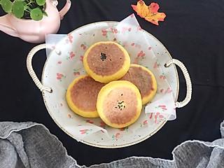石头妈1的暄软香甜的南瓜喜饼,让娃爱上吃南瓜