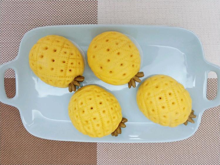 菠萝豆沙包图7