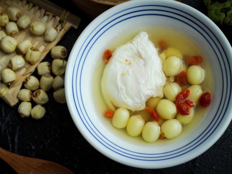 鲜莲荷包蛋&香椿饺子的周四,早安~图2