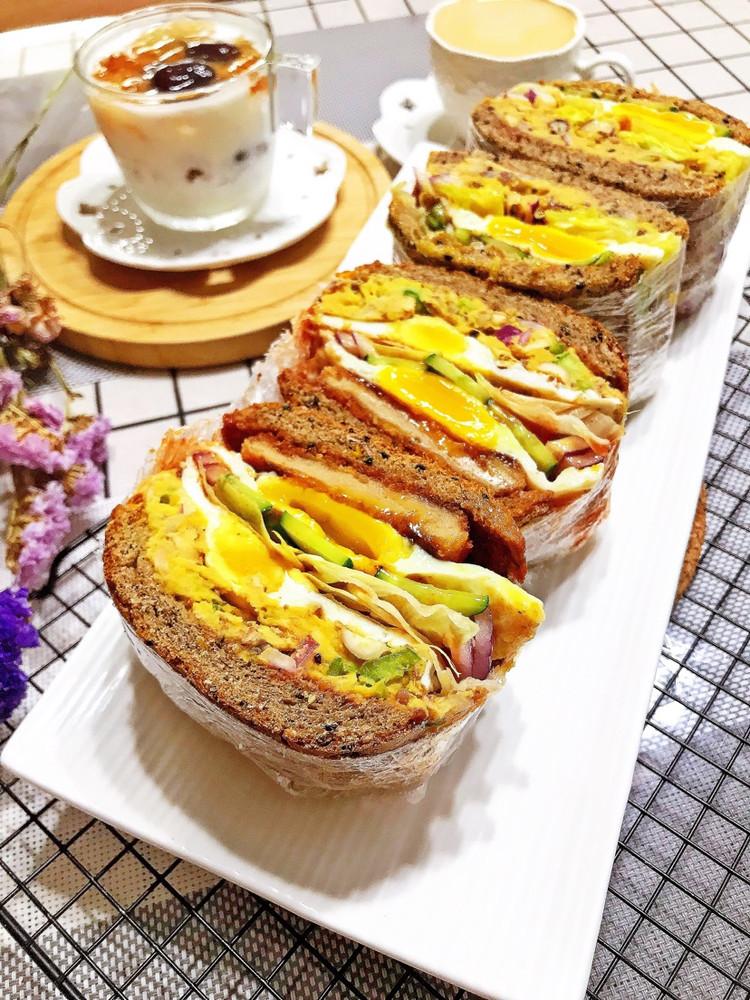 三明治🥪➕酸奶银耳桃胶图2