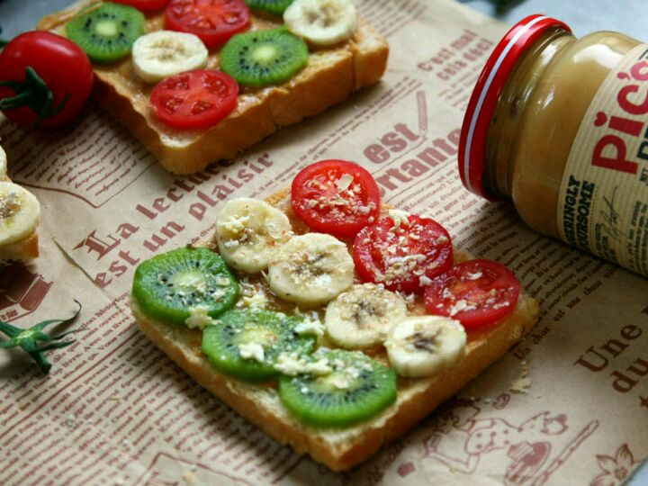 营养均衡――花生酱水果吐司片图6