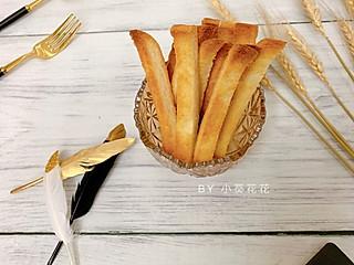 小葵花花的吐司边华丽变身饼干口感的香脆吐司边
