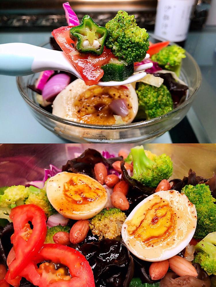 自制蔬菜沙拉图1