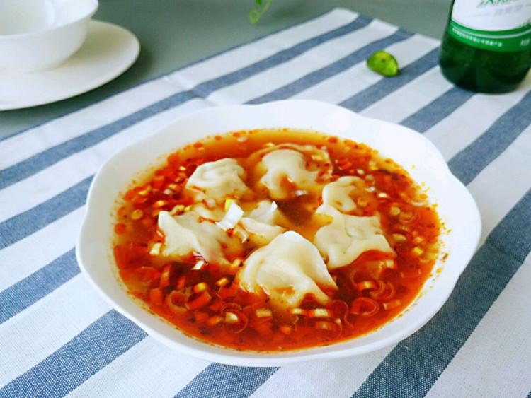 一吃就上瘾的酸汤水饺,吃完爽歪歪图2
