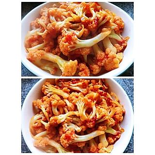 宁莀妈咪的五分钟搞定的米饭杀手之番茄菜花