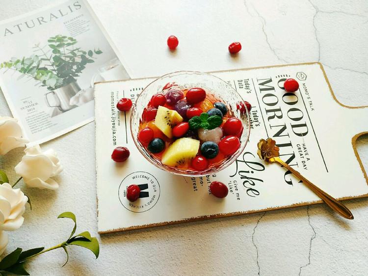 酸爽可口的蔓越莓芋圆杯简单几步就能搞定哦😉图2