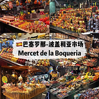 一只菠萝狸fofo的🇪🇸欧洲最美菜市场🔥波盖利亚市场