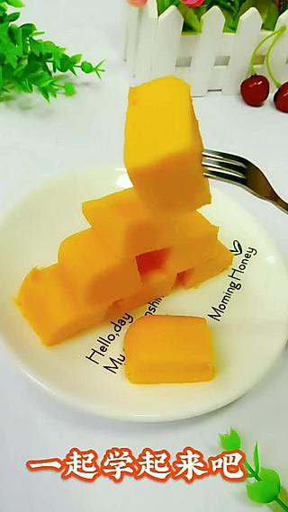 丹丹妈辅食的南瓜米饭糕9+