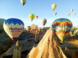 爱美食的拉拉的土耳其🇹🇷卡帕多奇亚坐热气球