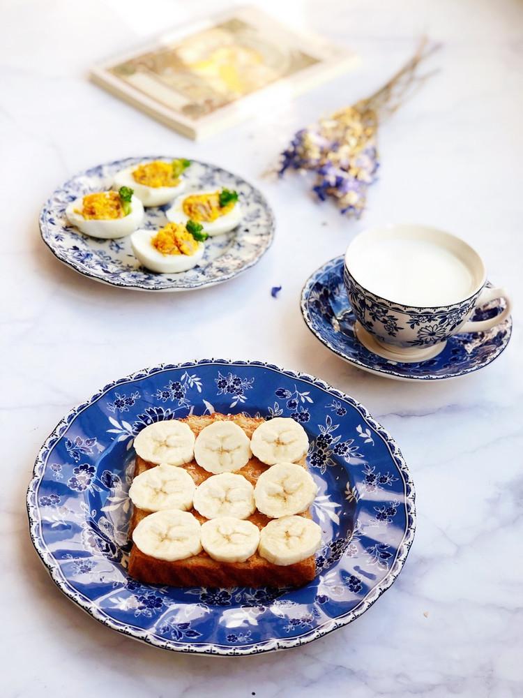 高蛋白低热量的早餐图1