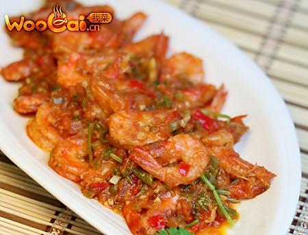 开胃的酸辣虾的做法