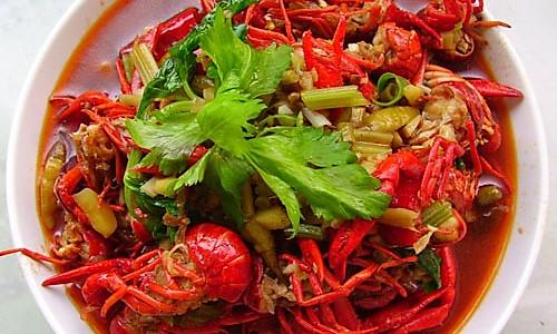 香辣口味虾的做法
