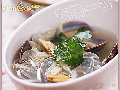 青岛美食 蛤蜊炖土豆的做法