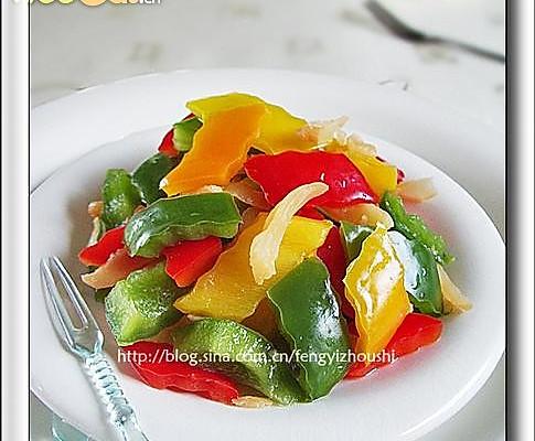 梅子彩椒——豆果热推好卖相的做法
