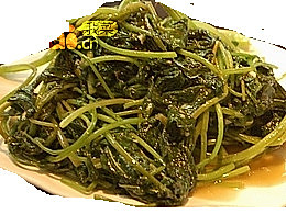 虾酱地瓜叶的做法