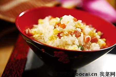 扬州炒饭的做法
