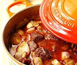 红酒炖牛肉Beef Bourguignon的做法