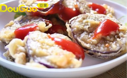蕃茄酱茄夹的做法