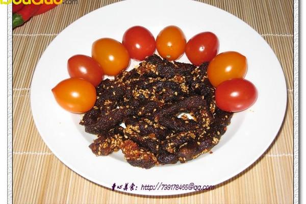 鲜香牛肉干—户外美食的做法
