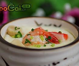 海鲜炖蛋的做法