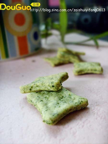 紫菜苏打饼干的做法