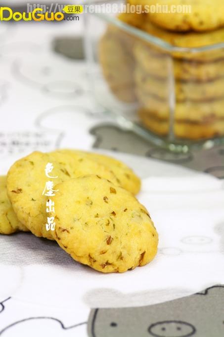 白菜饼干的做法