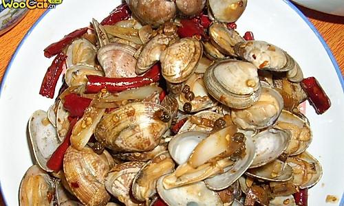 辣炒蛤蜊的做法