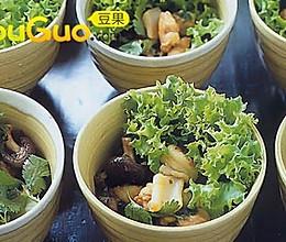 海鲜生财(生菜)包的做法