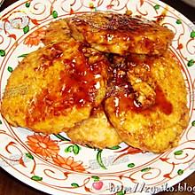 柔软香滑的鸡肉山芋饼