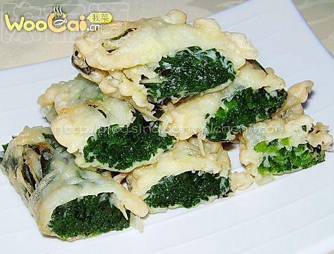 秋天的美味:炸韭菜串的做法