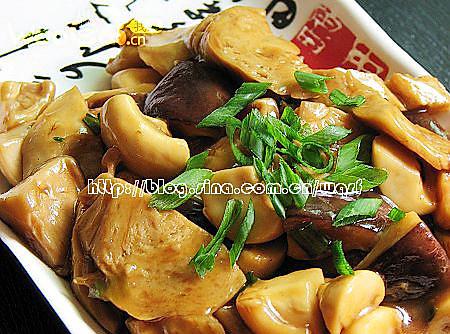 精品美食——蚝油双菇的做法