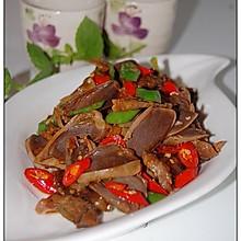 五香杭椒鸭胗-----无辣不欢族的下饭下酒菜