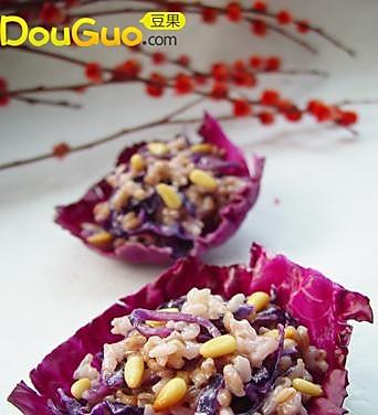 奶香紫甘蓝杂粮饭