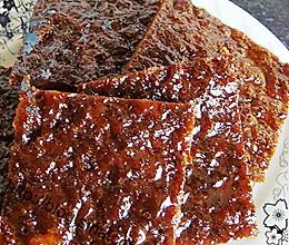 自制美味蜜汁黑胡椒猪肉干的做法