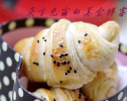羊角起酥面包的做法