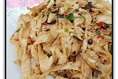 豉椒豆腐皮