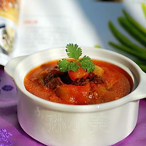 新年宴客菜——牛肉炖柿子的做法