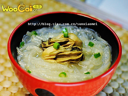 秋季润肤汤——牡蛎萝卜粉丝汤