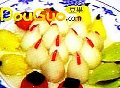 五果姜薯桃 的做法
