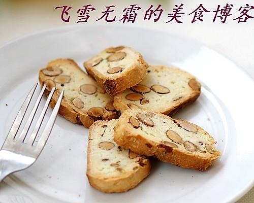 杏仁脆饼:脆,脆!牙口不好的小心!的做法