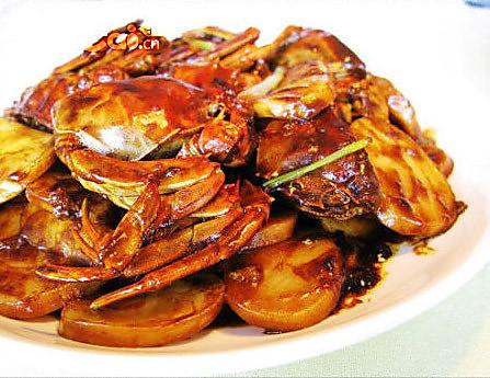 上海毛蟹炒年糕的做法