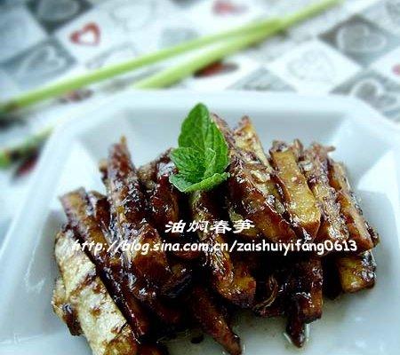 食春鲜,春季里不容错过的一道家常菜------油焖春笋的做法