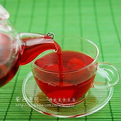 香艳饮品—洛神花果茶